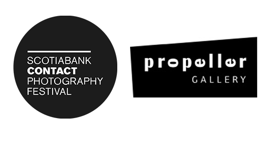 Scotiabank Contact Photograpy Festival and Propeller Gallery logo