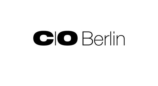 c/o Berlin black and white logo