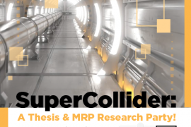 Grad Colloquium - SuperCollider Day 1: A Thesis & MRP Research Party!