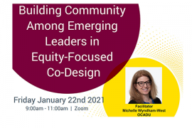 Building Community poster