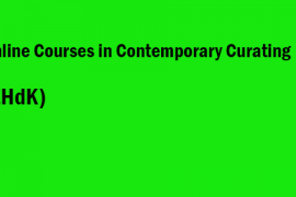 Online Courses in Contemporary Curating ZHdK