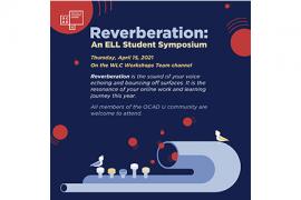 Reverberation: An ELL Student Symposium April15 2021