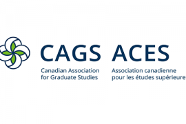 Canadian Association for Graduate Studies logo in English and French