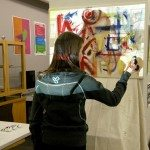 Interactive video painting