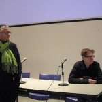 Pam Patterson, Leena Raudvee Q&A period