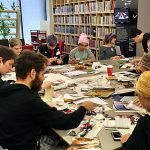 """A Queer Sense of Place"" Zine Workshop facilitated by Publications students Yasmin Emery & Francis Tomkins"