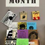 Black History Month Zine Display 2017