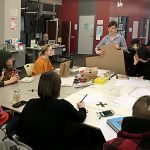 Zine Library Workshop: Hardcover Bookbinding 2017