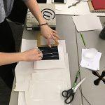 Zine Library Workshop: Hardcover Bookbinding, 2017