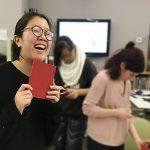 Iris Ho loves her book!