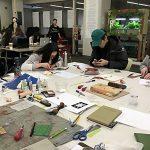 Zine Library Workshop: Linocut, February 14, 2017