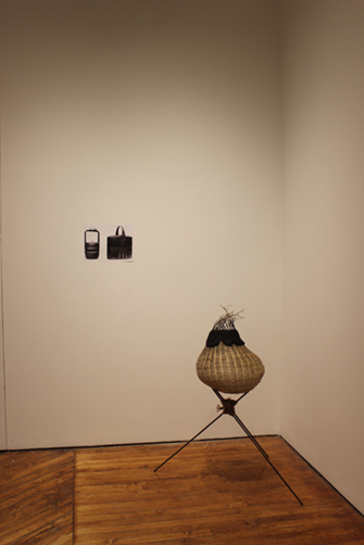 To Retrieve A Possible Heirloom, Kristi Chen (incense basket from basket blighted), 2021